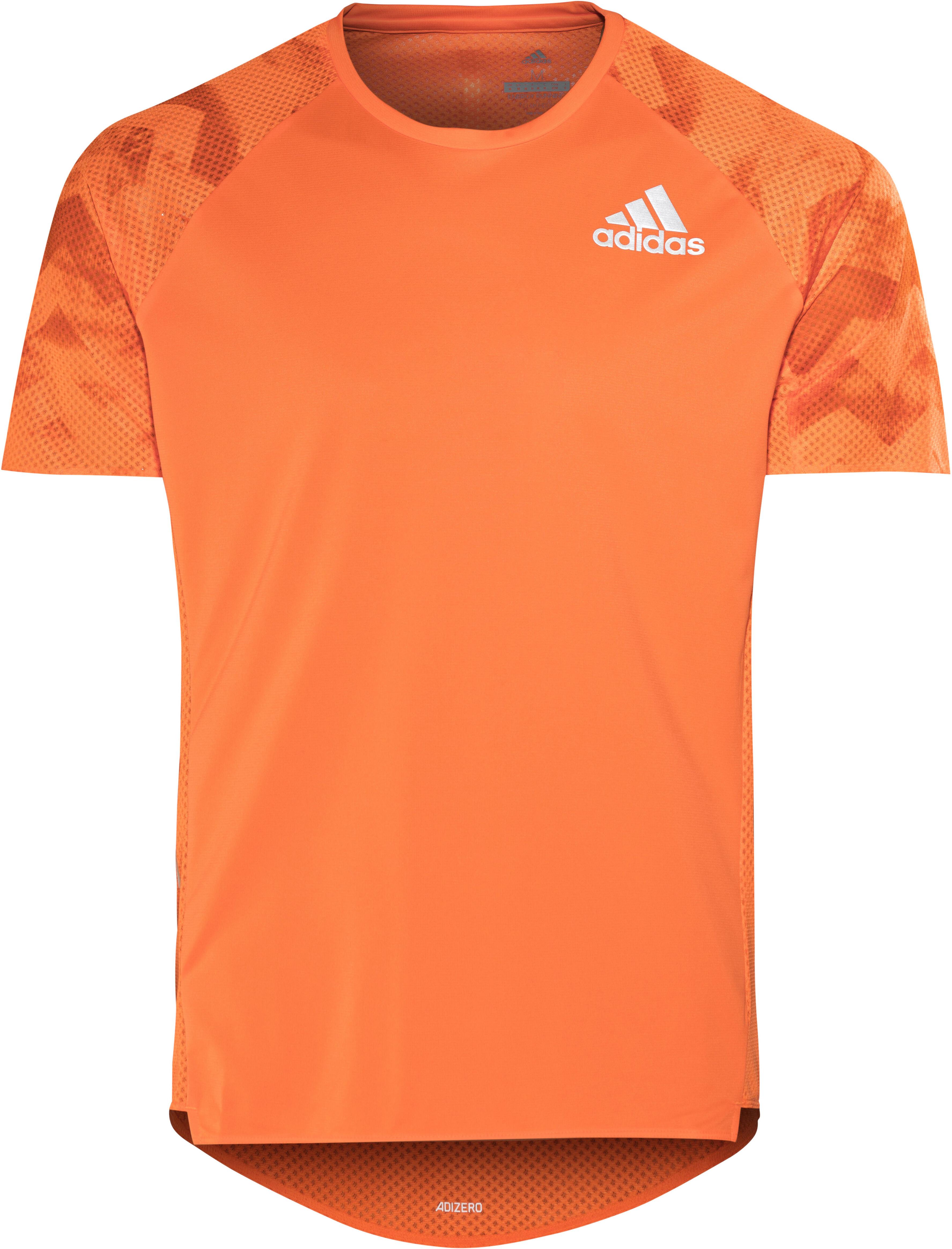 9381f3d27d0f7 adidas AdiZero - Camiseta Running Hombre - naranja